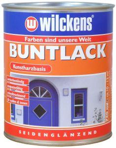 Wilckens Buntlack seidenglänzend, 750 ml Anthrazitgrau RAL 7016 Kunstharzbasis