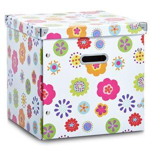 """Zeller Aufbewahrungsbox, Pappe, """"Kids"""" 33,5x33x32"""