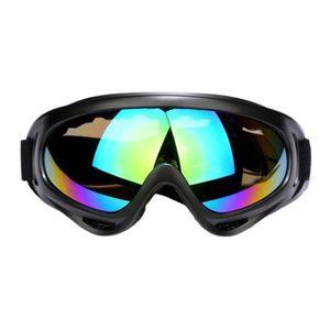 UV400 Schutzlinse Winddicht Staubdichte Skibrille Mehrfarbig Farbe Mehrfarbig