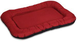 Knuffelwuff Wasserfestes In und Outdoor Hundebett Lucky aus Nylongewebe XXL 118 x 85cm Rot