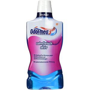 Odol med 3 Zahnfleisch aktiv antibakterielle Mundspülung 500ml