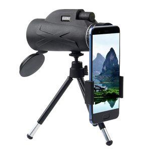Portable80x100 Outdoor Single Mini HD Monokular Handy Kamera Objektiv Teleskop