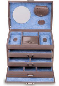 WINDROSE Merino Moda Jewelry Box S Grey