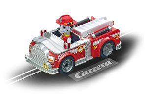 Carrera rennwagen Pfote Patrouille - Marschall Jungen rot
