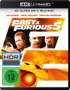 Fast 5 & the Furious Five (UHD) 2Disc Min: 130DD5.1WS 4K UHD+BR