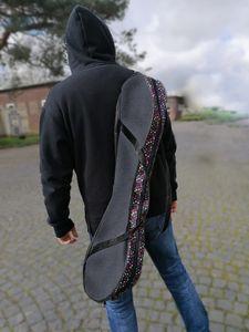 WAVEBOARDTASCHE bis 90 cm Waveboard Tasche bag Transporttasache Trageriemen 4. Dots