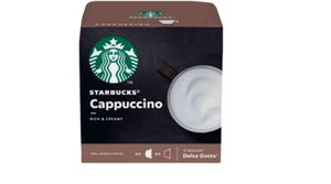 NEU! NESCAFÉ® Dolce Gusto® Starbucks® Cappuccino - 12 Kapseln / 6 Portionen