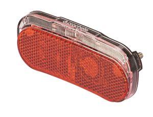 Prophete 5681 LED Dioden Rücklicht mit Brems- und Standlichtautomatik - Montage am Gepäckträger