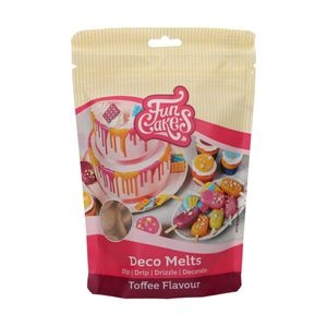 Funcakes Deco Melts - Toffee geschmack 250g