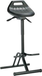 BIMOS Stehhilfe schwarz klappbar Sitz-H.640-840mm Neigung 13Grad