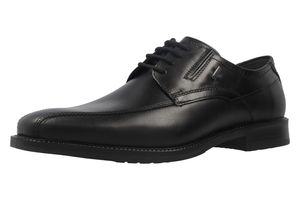 FRETZ MEN - Fred - Herren Business Schuhe - Schwarz Schuhe in Übergrößen, Größe:47