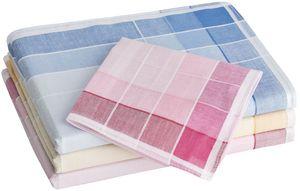 Tobeni 12 Stück Damen Taschentücher Stofftaschentücher Damentaschentücher Baumwolle, Farbe:Design 23, Grösse:30 cm x 30 cm
