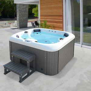 HOME DELUXE - Outdoor Whirlpool SEA STAR Jacuzzi Außenpool Spa