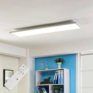 Arcchio LED Panel 'Philia' dimmbar mit Fernbedienung (Modern) in Weiß u.a. für Wohnzimmer & Esszimmer, inkl. Leuchtmittel - Bürolampe, Deckenlampe, Deckenleuchte, Lampe, Wohnzimmerlampe