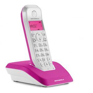 Motorola Startac S1201 Strahlungsarmes Schnurlostelefon, Farbdisplay, Rufnummernanzeige, 10h Sprechzeit, 200 Tage Standby, Freisprechfunktion, DECT