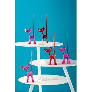 Koziol Ringhalter Katze MIAOU, Farbe:pink