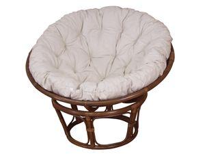 Papasansessel, Durchmesser 110 cm Sessel mit Kissen