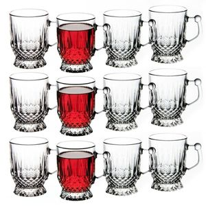 12x Pasabahce Teegläser mit Henkel Cappucino Kaffee Trinkgläser 165 ml Istanbul