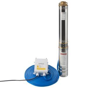 Arebos Tiefbrunnenpumpe 750W, 4000L/h - direkt vom Hersteller