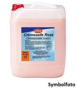 Eilfix hygienische und hautfreundliche Cremeseife Handseife Rosè für Druckspender, Inhalt:5 l