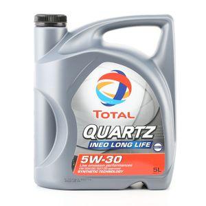 5 Liter TOTAL 5W-30 Quartz INEO Long Life ACEA C3 MB 229.51 VW 504 00 Porsche C30 MB 229.31 VW 507 00
