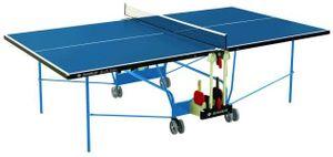 Donic-Schildkröt Tischtennis-Tisch SPACE-TEC Outdoor, 4mm Melaminharzplatte blau,