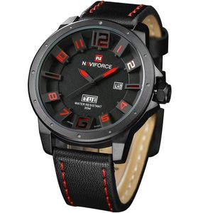 KZKR Multifunktions Uhr Herren Armbanduhr Chronograph Analogue Quartz Männer Uhren Wasserdicht Business