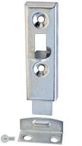 4 Möbelriegel Schubriegel Grendelriegel gerade Verzinkt 50 mm