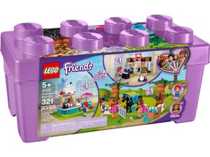 LEGO Friends Heartlake City Steinebox - 41431, Bausatz, Junge/Mädchen, 6 Jahr(e), 321 Stück(e), 994 g