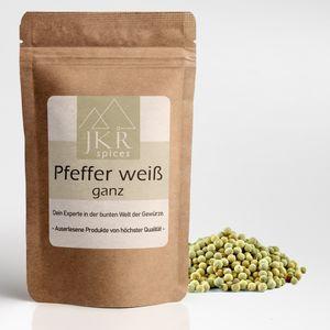 250g JKR Spices Weiáer Pfeffer ganz
