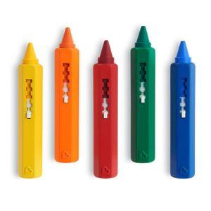 Munchkin Badewannen Stifte Bade-Spielzeug Wachsmalstifte 5 Stück