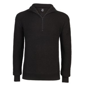 Brandit - Marine Pullover Troyer 5019 2-Black Pullover BW Größe XL 54/56