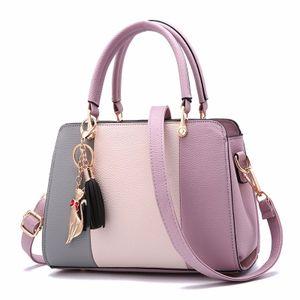 Damen Klassische Quasten Tasche Handtasche schultertasche Umhängetasche Shopper