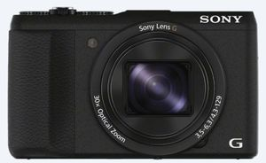 Sony Cyber-Shot DSC-HX60B Super Zoom Kamera, 20,4 Megapixel, 30x opt. Zoom, 7,5 cm (3 Zoll) Display