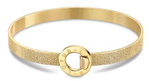 Damen Armband Armreif Edelstahl Lotus Style LS2080-2/2 golden