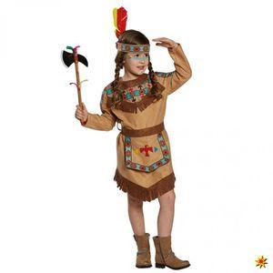 Kostüm Indianerin Baca, Mädchen Kleid, Größe:104