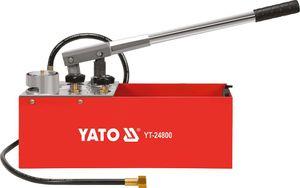 Abdrückpumpe Druckprüfpumpe Druckprobepumpe Prüfpumpe Handprüfpumpe für Druckprobe 12L 50 bar 5MPA