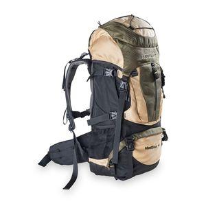 AspenSport - Trekking-Rucksack   MOUNT BLANC 60 Liter  Beige/Schwarz - 70 x 35 x 25 cm
