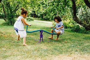 Plum rotierende See Wippe Kinder Spielzeug Schaukel Gartenwippe,