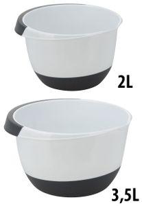Rührschüssel Set Kunststoff - 3,5 und 2 Liter