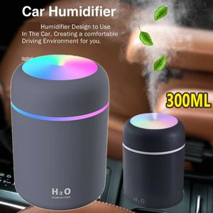 Luftbefeuchter LED Ultraschall Duftöl Aroma Diffuser Humidifier Diffusor 300ML