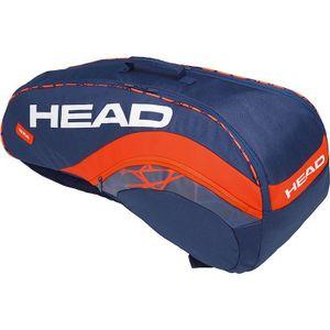 HEAD Radical 6R Supercombi Tennistasche Blau Orange