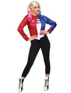 Harley Quinn Kostüm Set, Suicide Squad, Größe:M