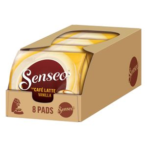 SENSEO Pads Typ Café Latte Vanilla Senseopads 40 Getränke Kaffeepads Softpads