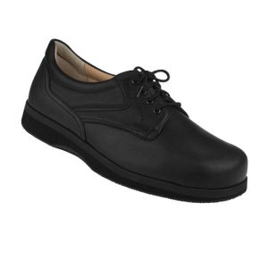Natural Feet Herren Orthopädie Kevin | Weite L | für Einlagen Größe: 61/2, Farbgruppe: schwarz