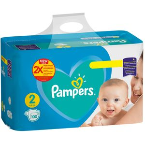 Pampers Baby Dry Gr. 2 New Baby 4-8kg, 100 Stück