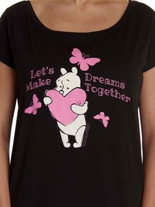 Ladys Loose Shirt - Disney's Winnie Pooh - Let's Make Dreams Together, Größe:XL