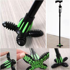 Gehstock Aufsatz und Stabilisator Gecko Gehhilfenfuß für Ø: 1,8 cm Anti Rutsch Beschichtung TPR / Silikon