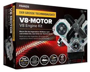 Der große Technikbausatz V8-Motor