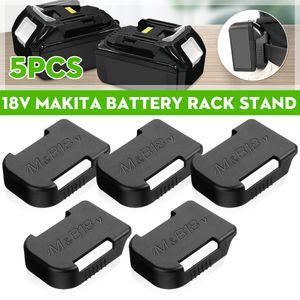 DE 5X Batteriehalter Halter Lagerung Für Bosch BAT622 Für MAKITA BL1860B 18V